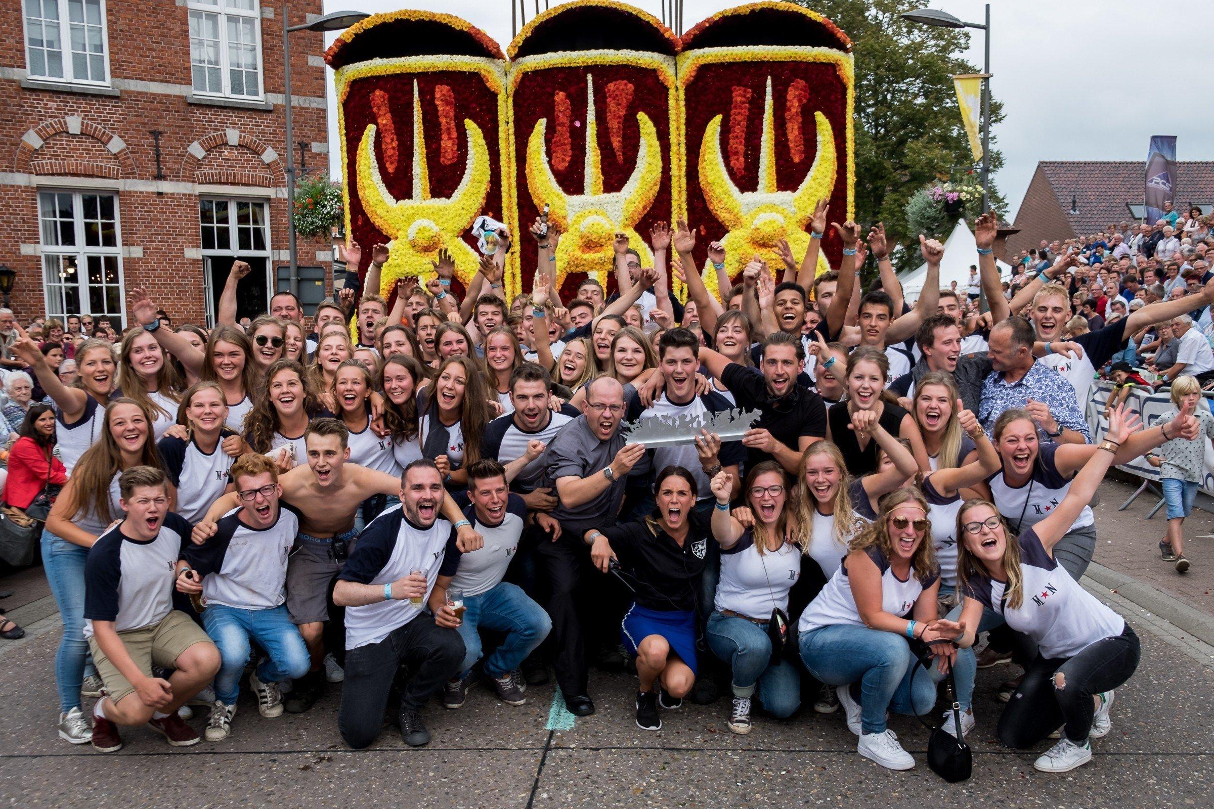 Buurtschap Marsweg*Neervenweg wint 65e corso Loenhout