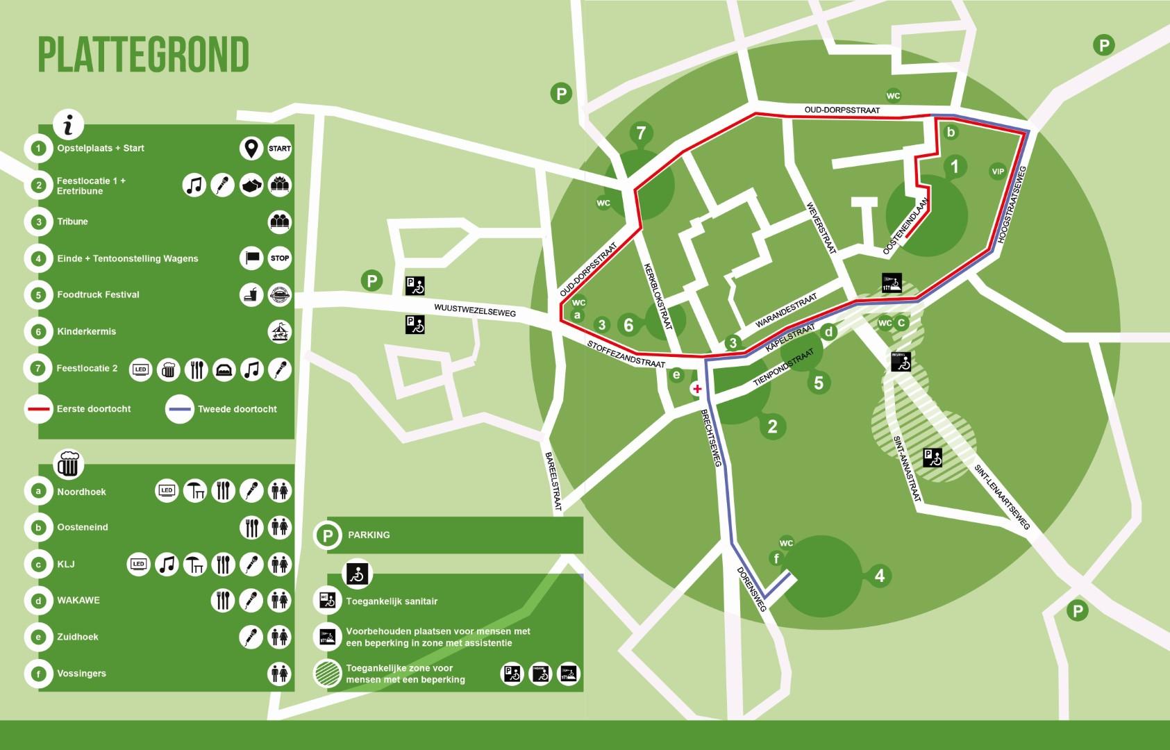 Dorpsplan corso Loenhout 2018