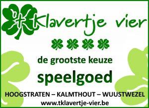 't Klavertje Vier is trotse partner van de Bloemencorso Loenhout