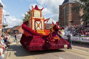 Bloemenwagen Noordhoek Bloemencorso Loenhout 2019